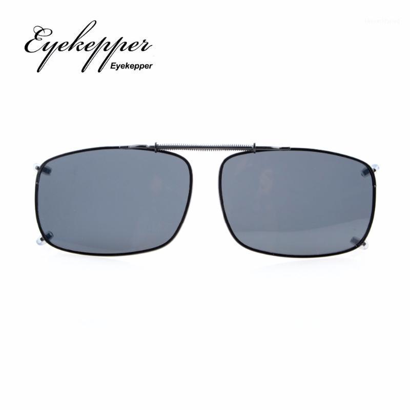 C60 Eicekepper 58x38 mm Clip auf Sonnenbrille mit Frühlingszug bar polarisiert1