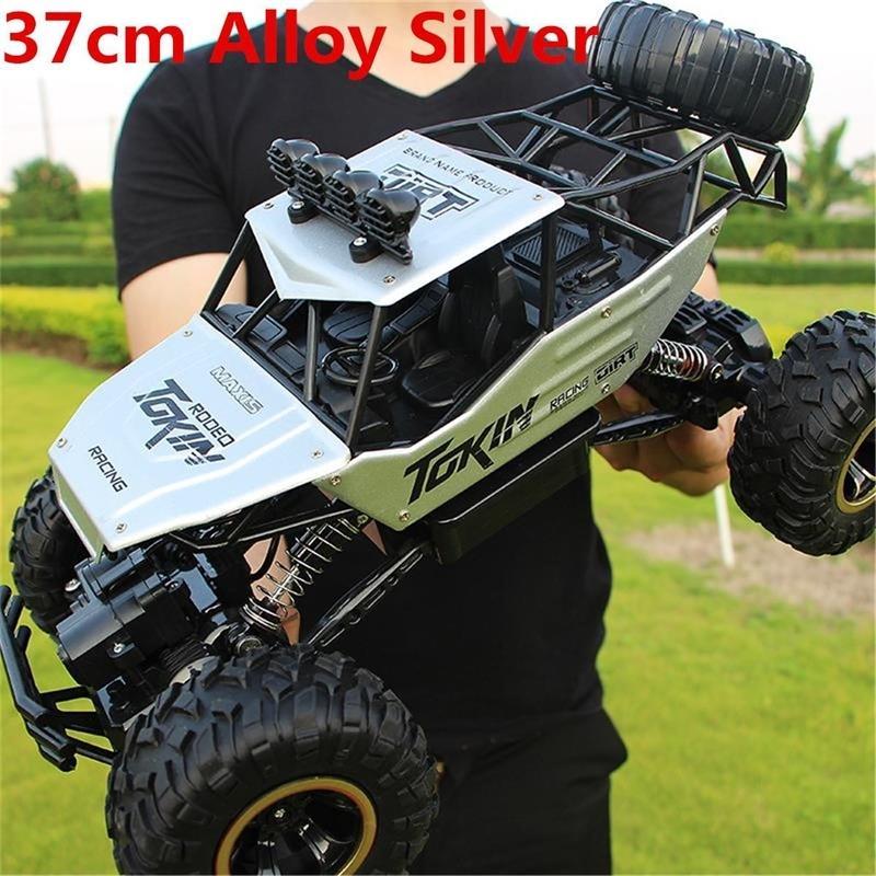 37 см Большие 4WD RC Cars Обновлена версия 2.4G Radio Control RC Cars Toys Buggy ~ Высокоскоростные грузовики Off-Road Грузовые автомобили Игрушки для детей 201218