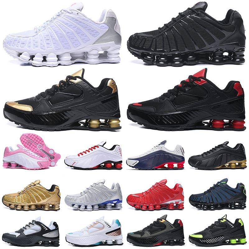 chaussures nike shox tl shoes estoque x Tênis de corrida das mulheres dos homens Chaussures ENTREGUE Mens Trainer Sports Sneakers