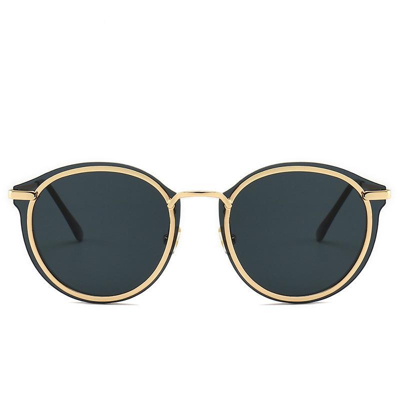 Gafas de sol y gafas de calles Forma irregular Gafas de sol Mujer Mujer UV400 Gafas de personalidad Tienda Tendencia Moda Marco Sin marco Rumqc