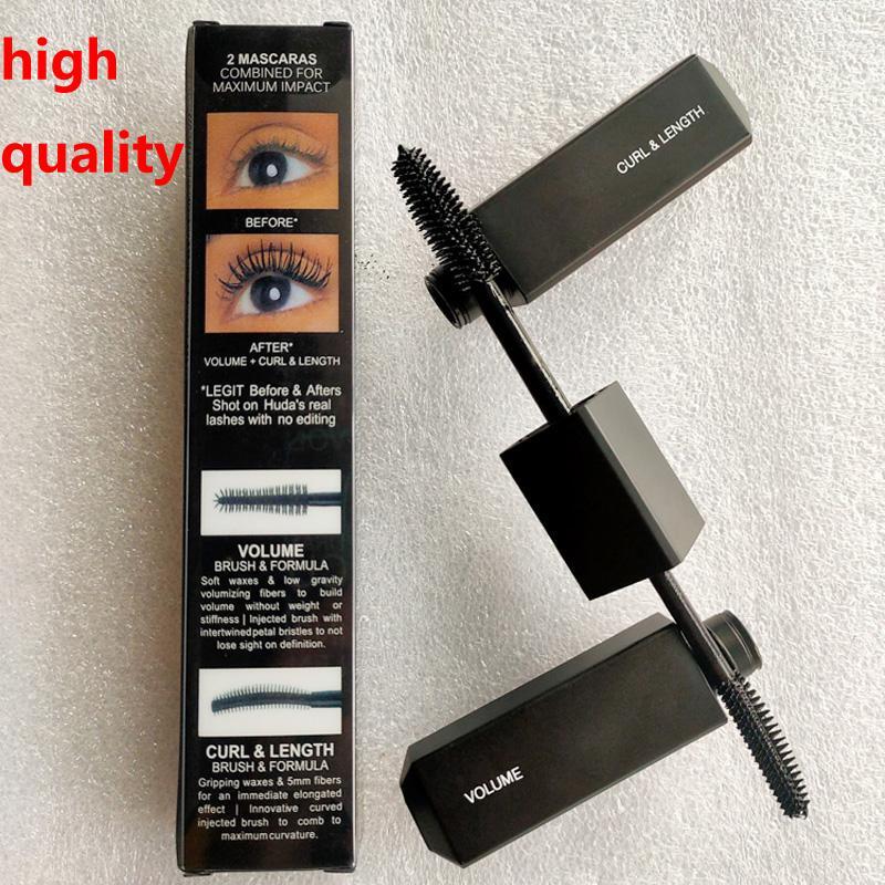 Hot Black Blank Brush Brush Mascara Legit Legit Lashes Mascara Maggiore Volume Curl lunghezza Cruling allungamento 8.5ml