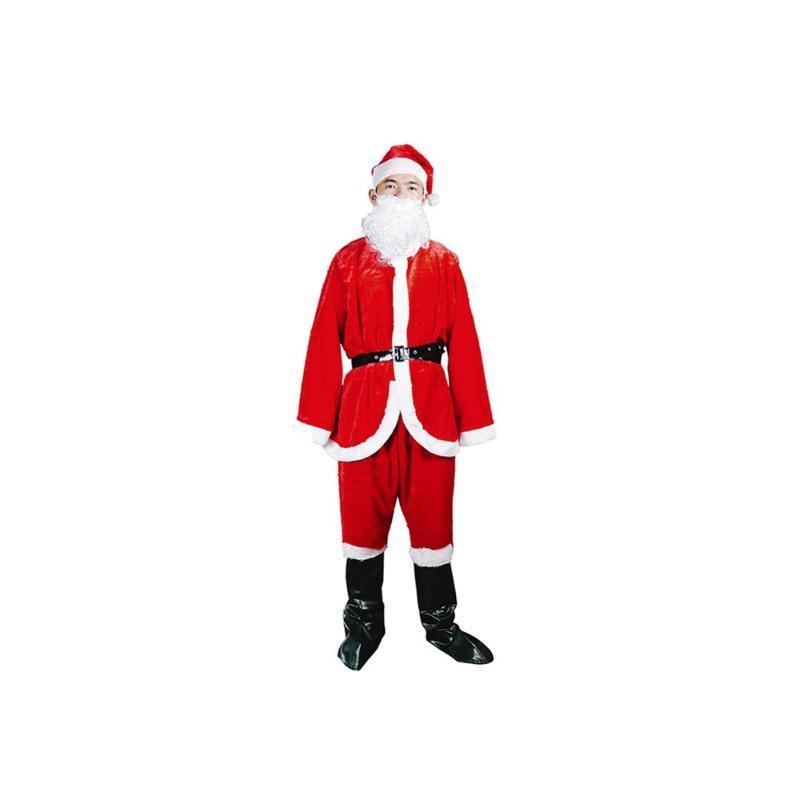 Traje de Santa Claus Ropa de Hombre / Gold Material del terciopelo / Viste a la Navidad tamaño normal Ropa / Navidad Decoración Tmosphere
