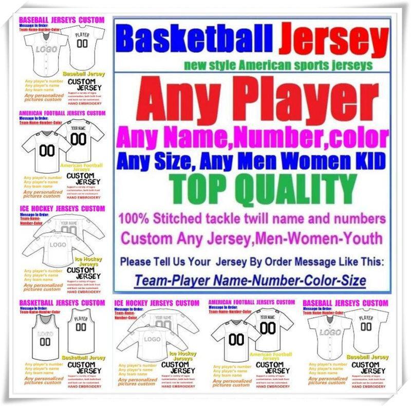 Пользовательские баскетбольные бейсбольные хоккеи хоккей мужские мужчины дети американский футбол трикотажные изделия из паров колледжа неприкасаемый сшитый сшитый трикотаж фиолетовый 4XL 5XL