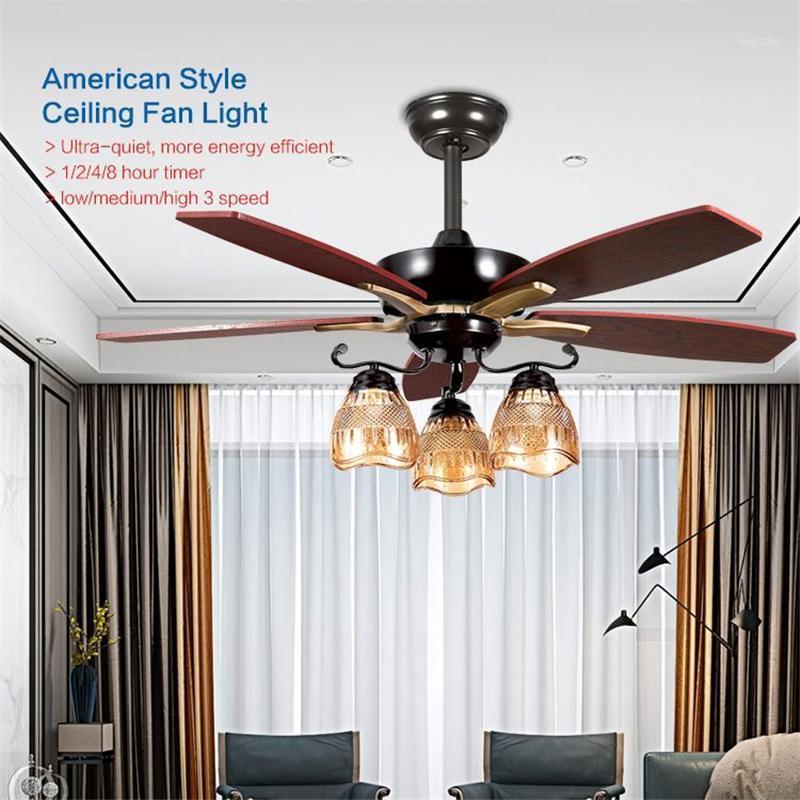 Riyueda Hoher Qualität Großhandel Benutzerdefinierte 42 '5 Klinge Deckenventilator mit Licht für Raumdekoration1