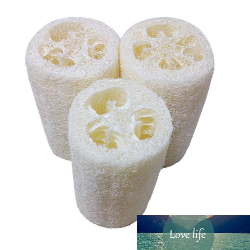 Duche New Natural Loofah Bath Corpo Esponja Scrubber Pad Hot Gota shipping6.15 / 35%