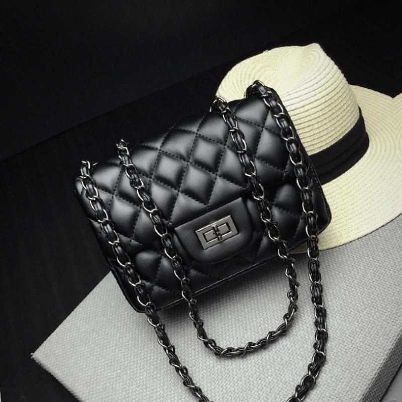 Плечо новая женская сумка сумка сумка сумка ромбическая цепь плсре