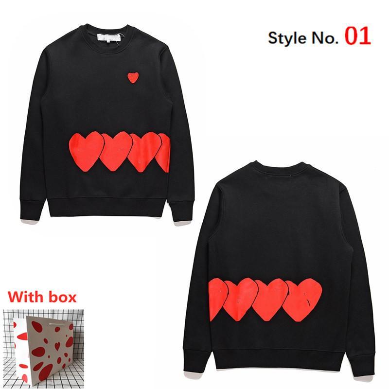 Wholesale sudadera para hombre suéter de alta calidad Sudadera con capucha suelta de las mujeres con la etiqueta de la moda de la moda de la manga larga de la manga larga con la caja