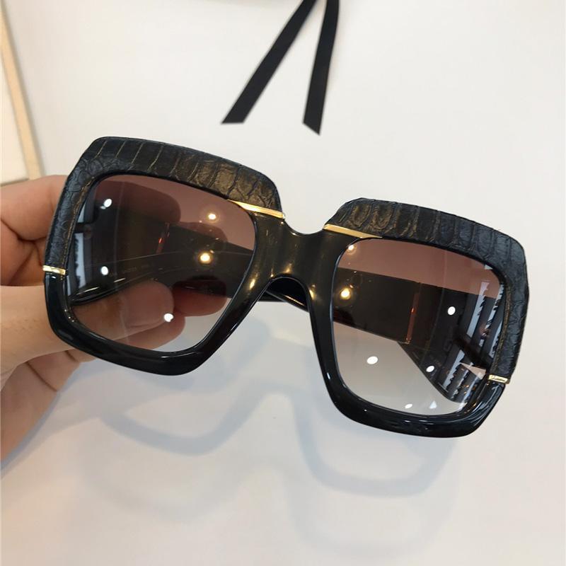 0484S النظارات الشمسية الشعبية للنساء ساحة الصيف نمط الإطار الكامل أعلى جودة uv حماية مختلط اللون يأتي مع حزمة حار بيع