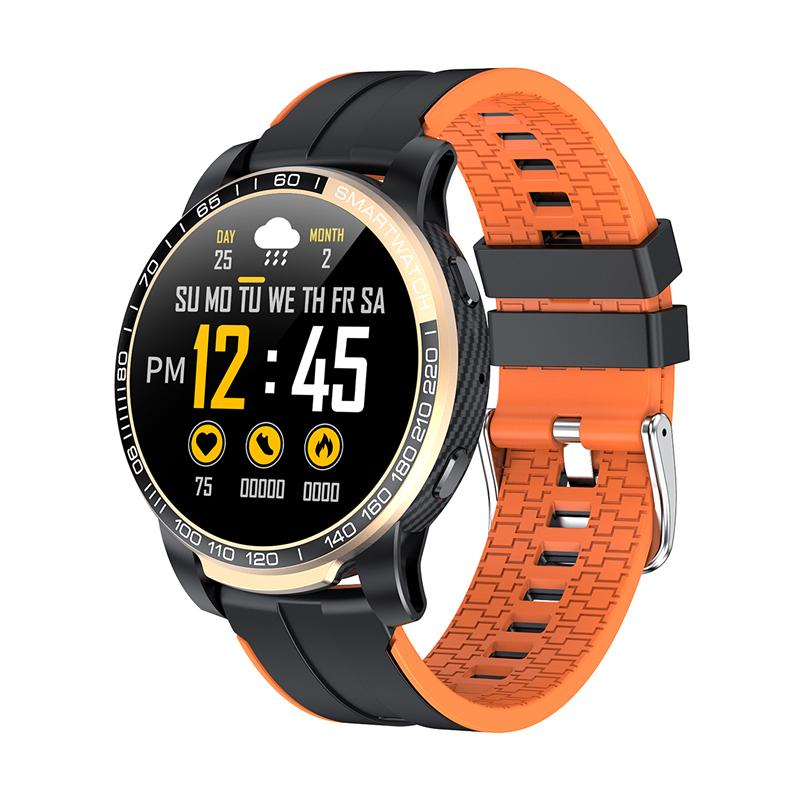 GW20 Luxury Smart Watch Men Bluetooth Call Hear Rate Monitor Weather 30 Days Standby Sports Smartwatch For Android IOS Phones