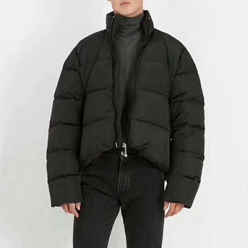 Sıcak satış 20FW High End Küçük Harf Baskılı Podyum ceket Aşağı Kış Açık Coats Windproof Aşağı Ceket Sokak Modası OUTWEAR Isınma