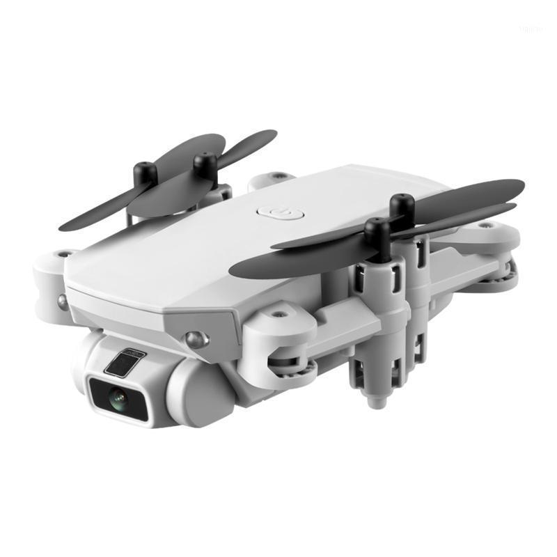 LS Mini WIFI FPV 5.0MP HD Kamera Ile FPV HD Kamera Yükseklik Tutma Modu Katlanabilir RC Drone Quadcopter RTF White1