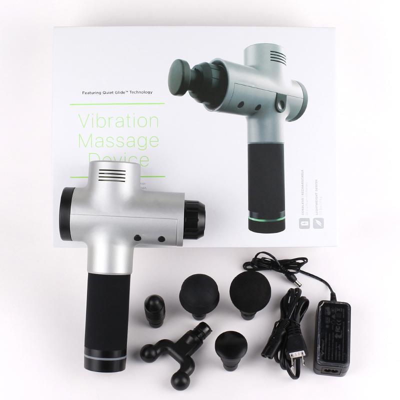 2 gen inovação por hipervolt hypervolt com tecnologia de deslizamento tranquilo Vibração Dispositivo de percussão 24v Lithium-Lon bateria de massagem