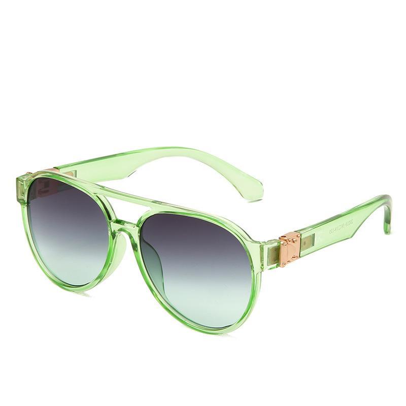 Marca Gafas de sol Gafas Classic Fashion New H90 Sun Glitter2009 Womans UV400 Brand Designer Sunglasses Gafas de lujo con gafas de caja GAQM