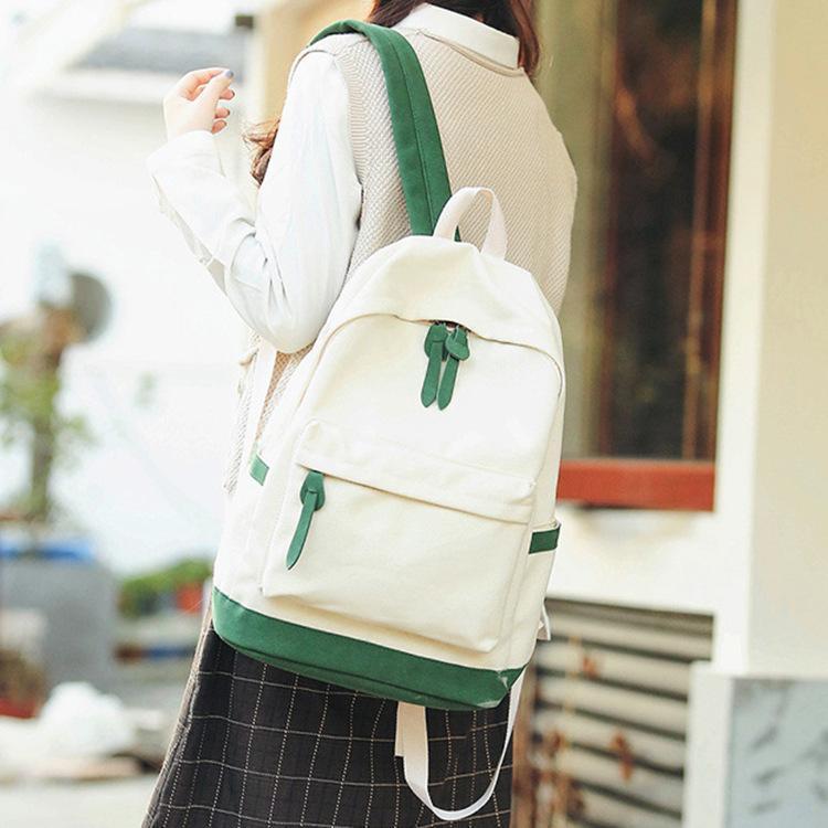 Женская девушка обе пакет чистый хит мешок маленький рюкзак свежие цветные плечи анти путешествующие кражи qoaev
