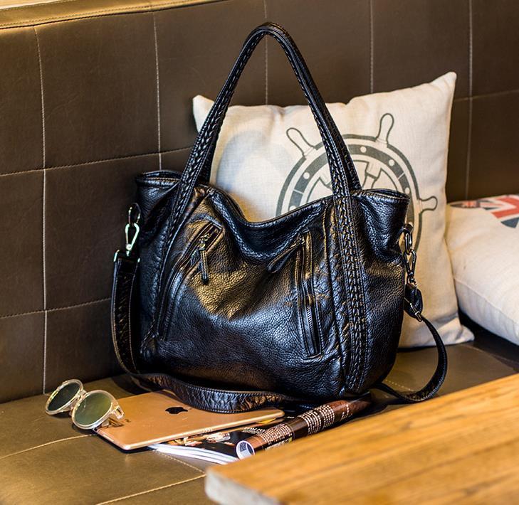 Дизайнерская сумка Женщины плечо высокий Ladie Crossbody женская искусственная сумка качества мягкая большая кожаная сумка hobo сумка xwbvx