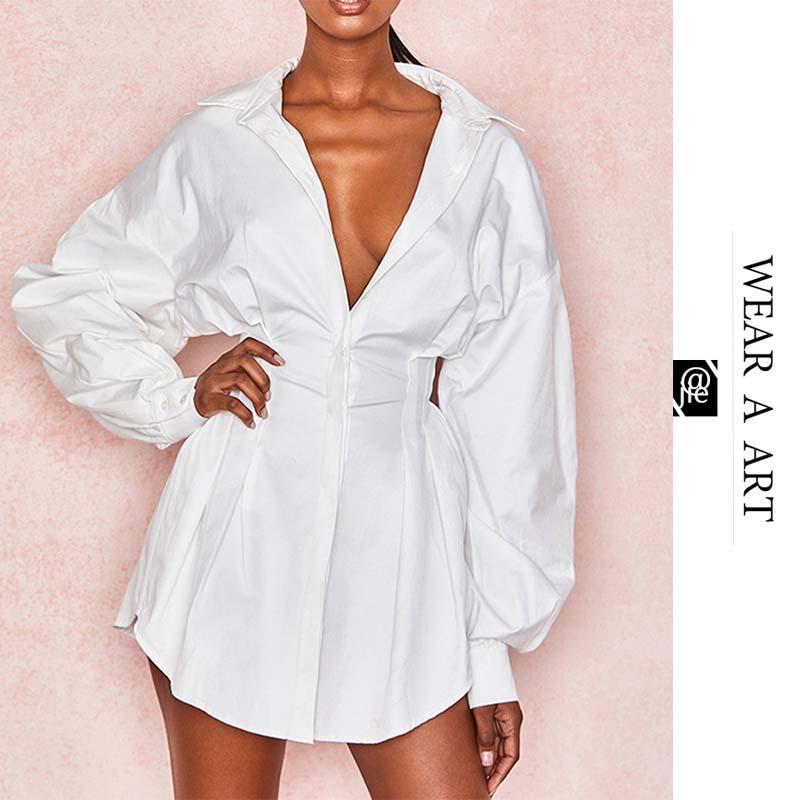 Mulheres verão sexy t-shirt vestido senhora v-pescoço vestidos curtos vestidos branco feminino mini solto roupa casual plus size primavera botão preto simp