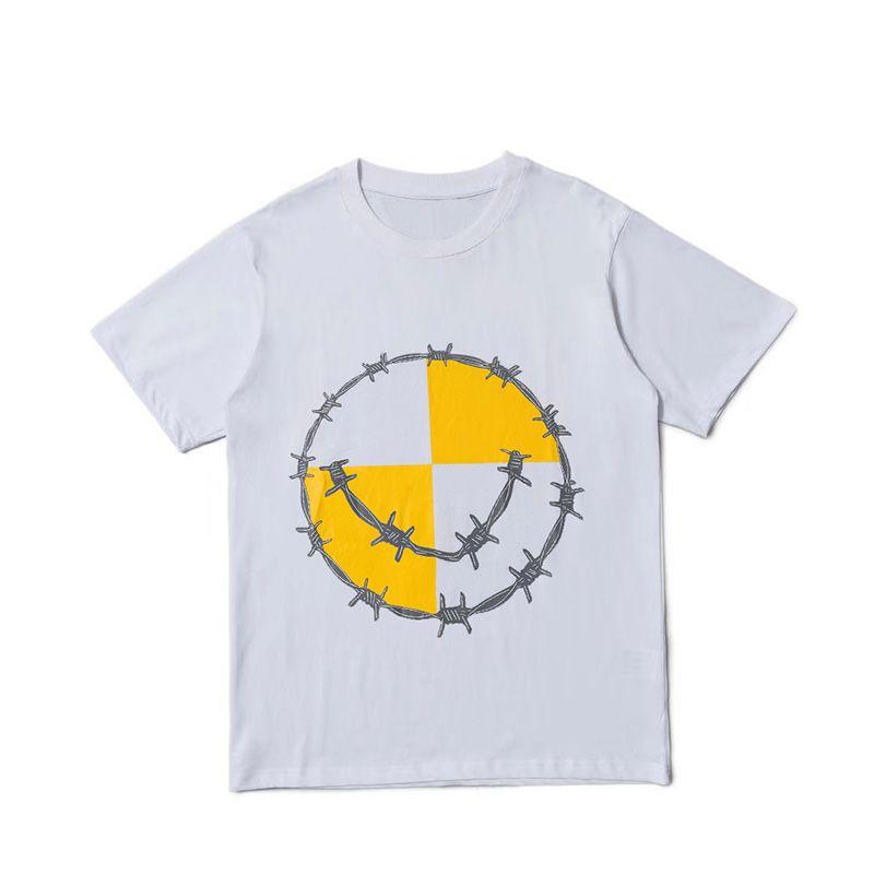 19SS Mode Femmes Hommes T-shirts Hip Hop Streetwear Lettre de coton Impression à manches courtes Big Femmes Skateboard Tees