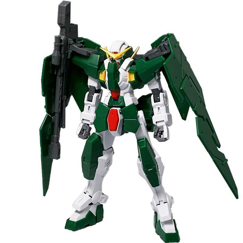 Anime Mobile Suit Gundam HG 1/144 00 Gn-002 Dymesames Gundam Effects Action Рисунок Модель модификации Робот Коллекция игрушки Toys 201202