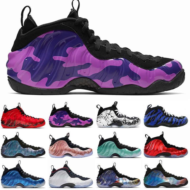 2020 Hakaret Köpük tek Penny Hardaway Erkek Basketbol Ayakkabı Arkalık Alternatif Galaxy Spor Sneakers boyutu 7-13 Shattered ParaNorman