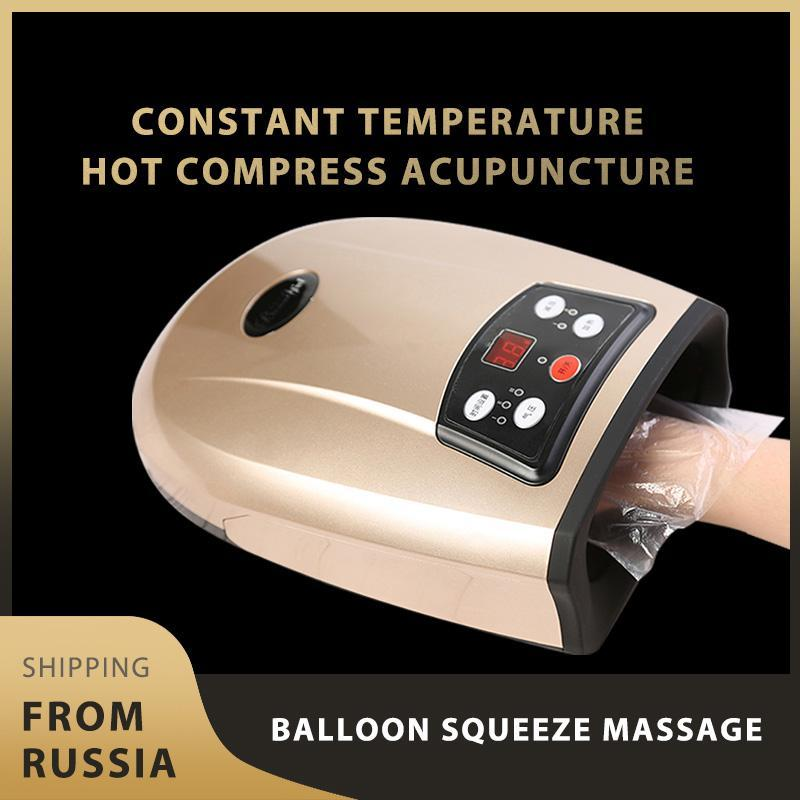 Electric Massagers Hand Massager Physiotherapy Equipment Palm Finger Massage Device Pressotherapy Air Compression Massagr Apparatus