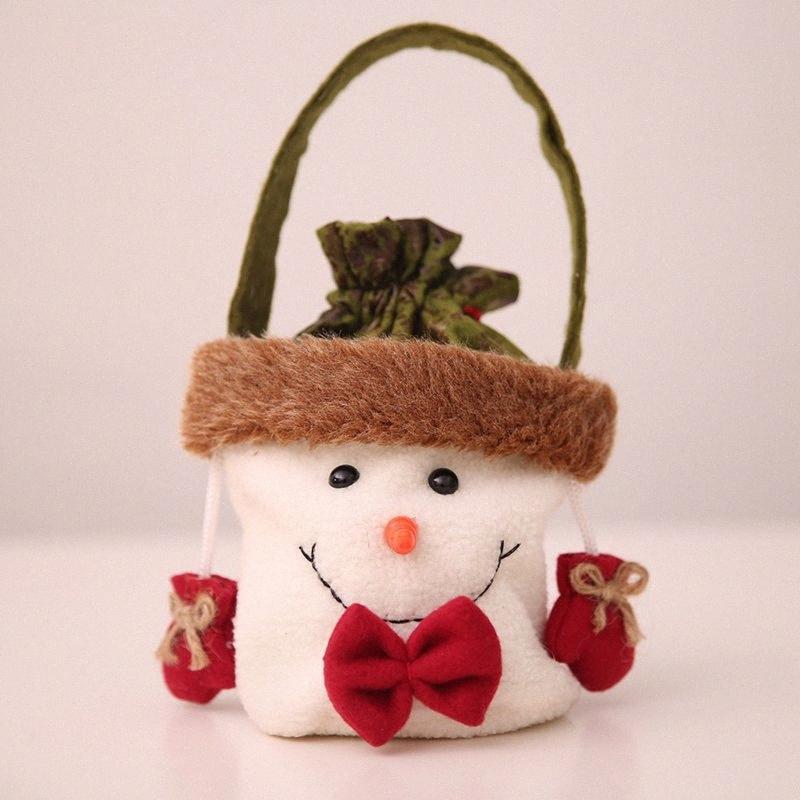Crianças Party Pack presente Saco dos doces Presente de Natal 1pcs Ano Novo Véspera de Natal da Apple Bag Xmas Decoração suprimentos 1lFg #