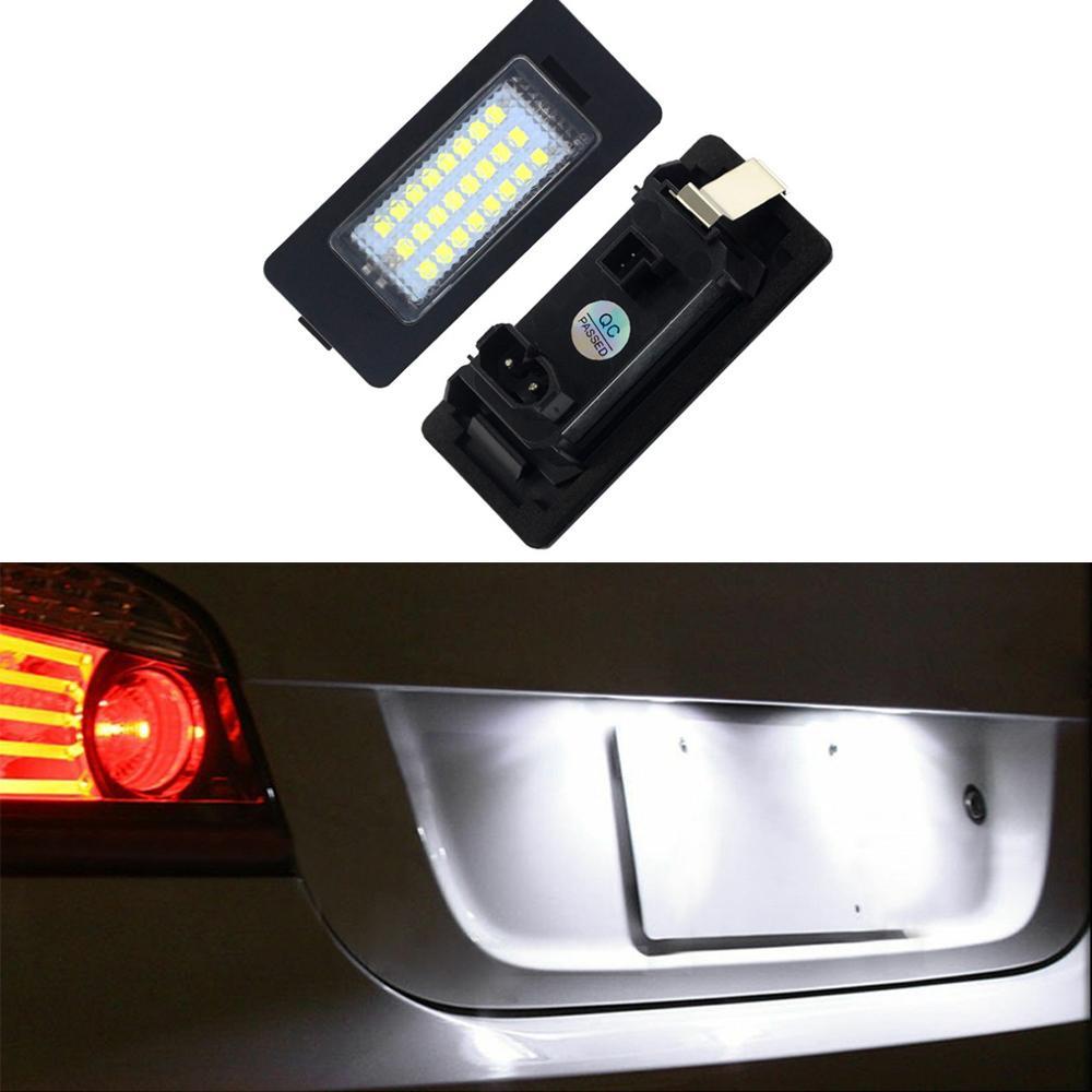2Pcs номерной знак свет лампы для BMW 128i 135i 1series 3series 325xi 328i 328xi 5series 525i 528i 530i 540i Xseries E70 X5