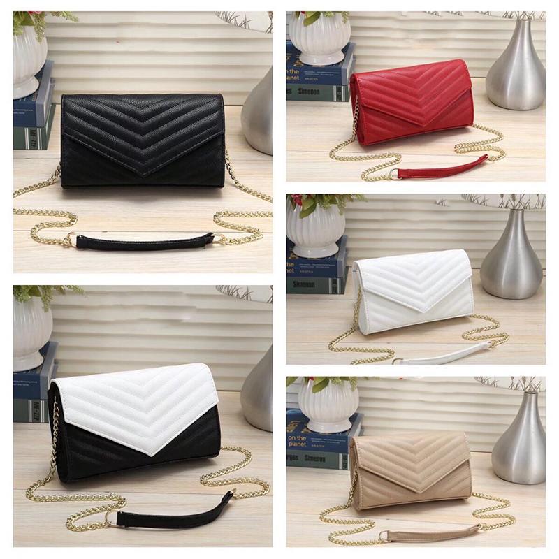 Rosa catena Sugao donne borsa tracolla borsa crossbody 2020 nuovi stili borsa della signora cuoio dell'unità di elaborazione borse di qualità Yletter metallo buona