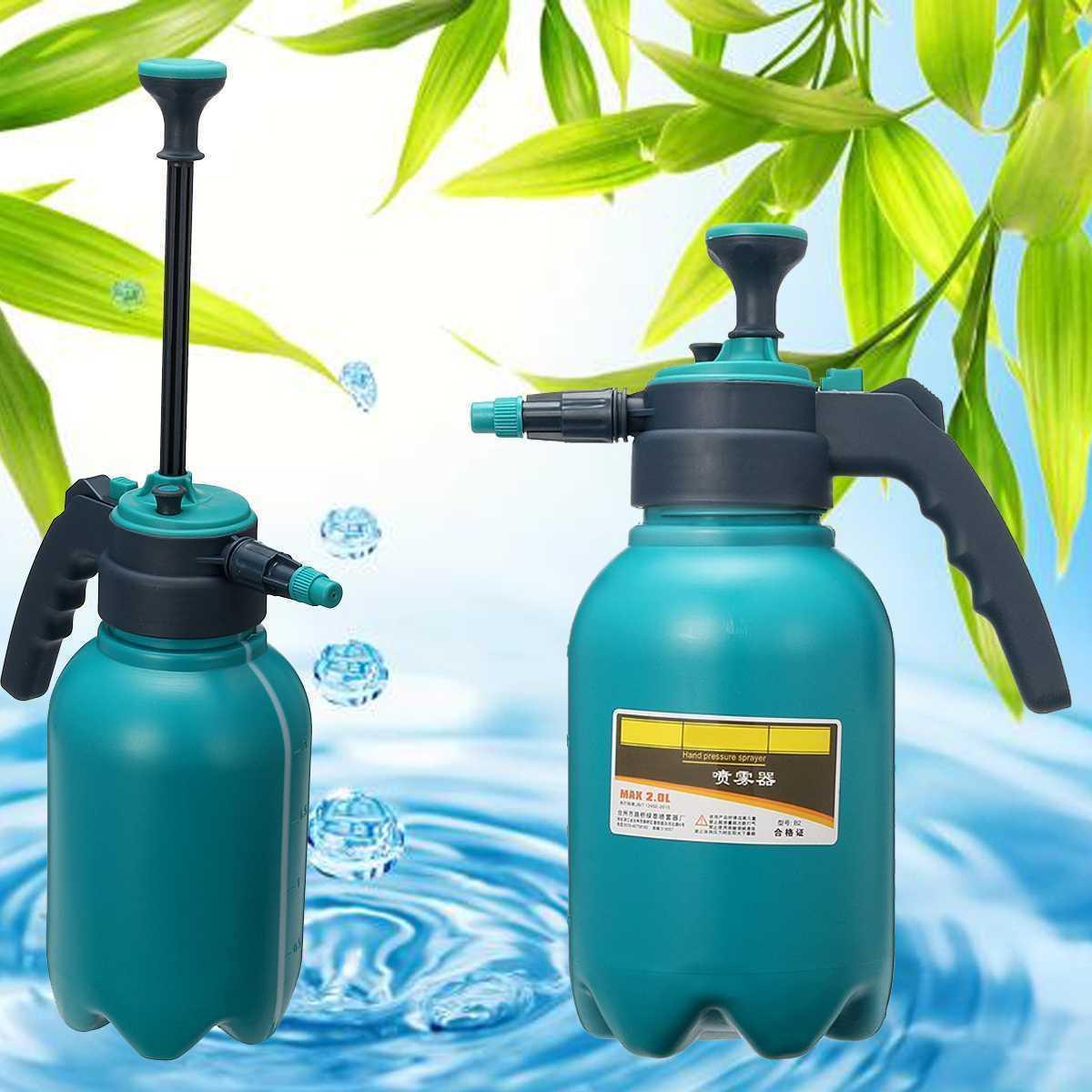 Pompa a spruzzatore chimico portatile Pompa a pressione per la pressione della pressione del trigger Bottiglia regolabile dell'ugello di rame della pompa di compressione dell'aria spray 2.0l Y200106