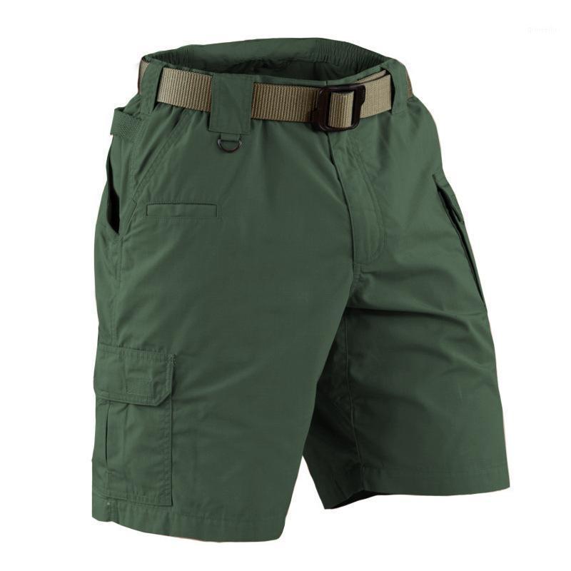 Мужские шорты 2021 летние камуфляжные грузы мужские повседневные мульти карманные водонепроницаемые хлопчатобумажные Ripstop Army Tactical1