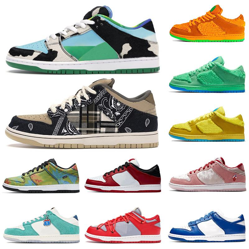 2020 New Mike Chunky Dunky Running Shoes Low Authentic Sneakers Paris SP Brazil off VALENTINE Concepts x Mens Womens Sports Skate Trainers