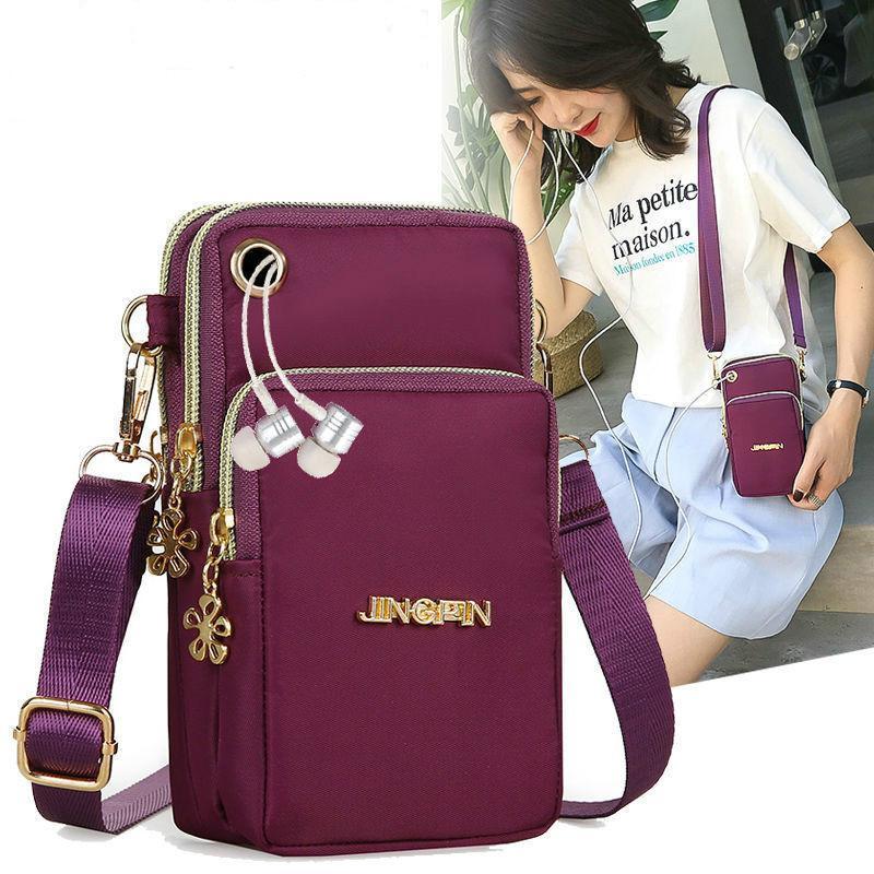 Sac de luxe portefeuille sacs à main sacs téléphone bandoulière embrayage dames sacs sacs nylon pour sac à main 2020 femme poignet femme femme AQRTF