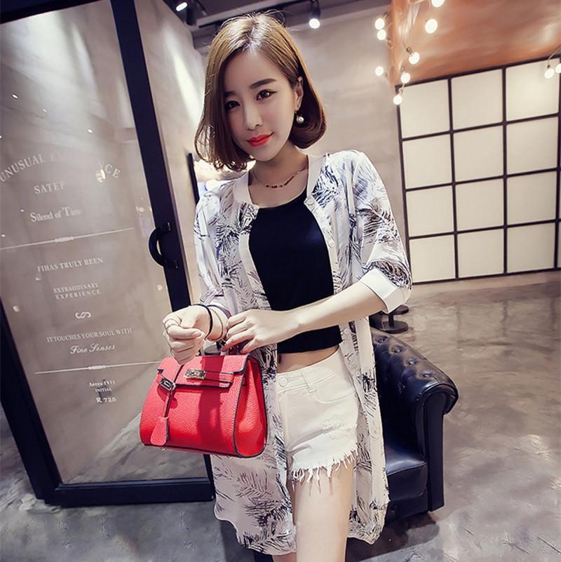 5RtbJ Лето корейской версии короткого простое высокого пальто верхней талия верхней футболки Твердых женщин с коротким рукавом пуп футболка тонкой мода половина Slee