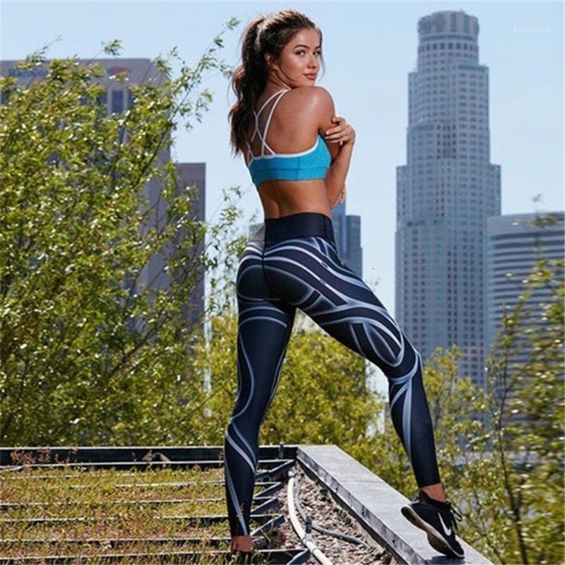 Pantalones de yoga Mujeres Fitness Leggings Gimnasio Deportes Correr Medias Compresión Sexy Hips Push Up Sport Pants Mujeres Sportswear Leggins1