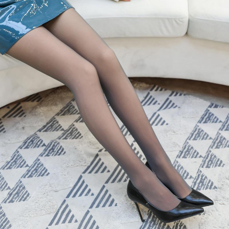 2020 новые леггинсы тонкие черные серые прозрачные бесшовные высокой плотности против крючка чулки женские колготки