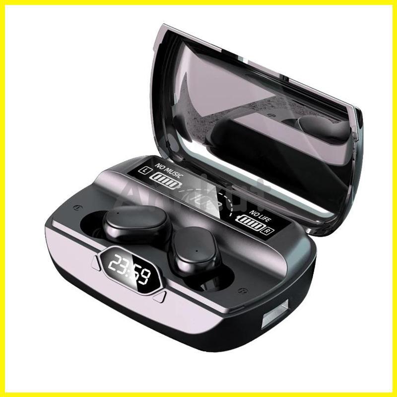 TWS G6 Cuffie, 5.1 Bluetooth Sports Wireless LED Display auricolari auricolari auricolari IPX7 Auricolari impermeabili IPX7 con custodia per caricabatterie