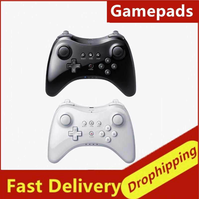 Classic Gamepad For Wii U Pro With USB Cable Wireless Controller Wireless Bluetooth Joystick Gamepad Games Accessories