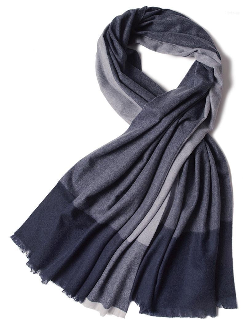 Высококласс 100% Кашемировые Женщины Мода Лоскутное Цветные Шарфы Шаль Средний Толстый 70x200см Маленький Fringed1