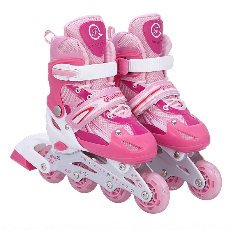 BBXGL Enfants ajustable Stroit de sport de plein air Sports de sport Patinage Chaussures Roule Single Flash Adulte Rouleau Rouleau adulte Patinage Vitesse Sports de plein air Ro