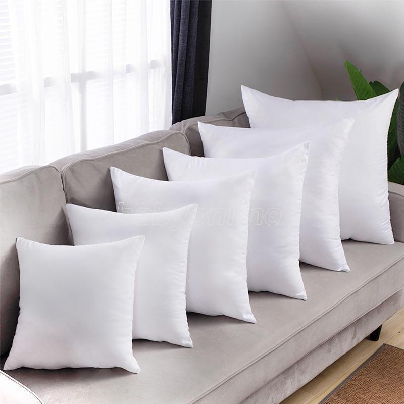 DHL Süblimasyon Yastık Kılıfı Isı Transferi Baskı Yastık Süblimasyon Boşlukları Kapakları Yastık Yastık 40x40 cm Polyester Yastık Kapakları Toptan