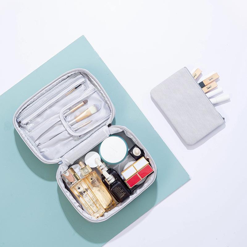 Obsession TikTok Hot Cosmetic Bag в европейском стиле Простой большой емкости водонепроницаемый мешок перемещения могут быть настроены логотип производителя
