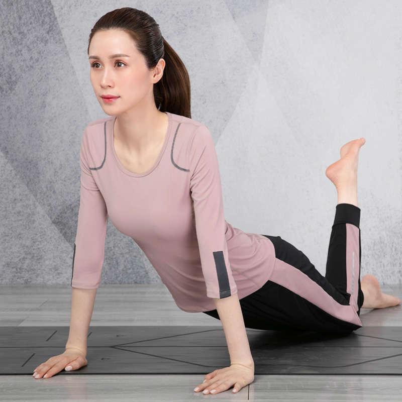 Yoga vestito moda donna autunno autunno e inverno grande palestra professionale high-end rending show sottile veloce netto secco rosso