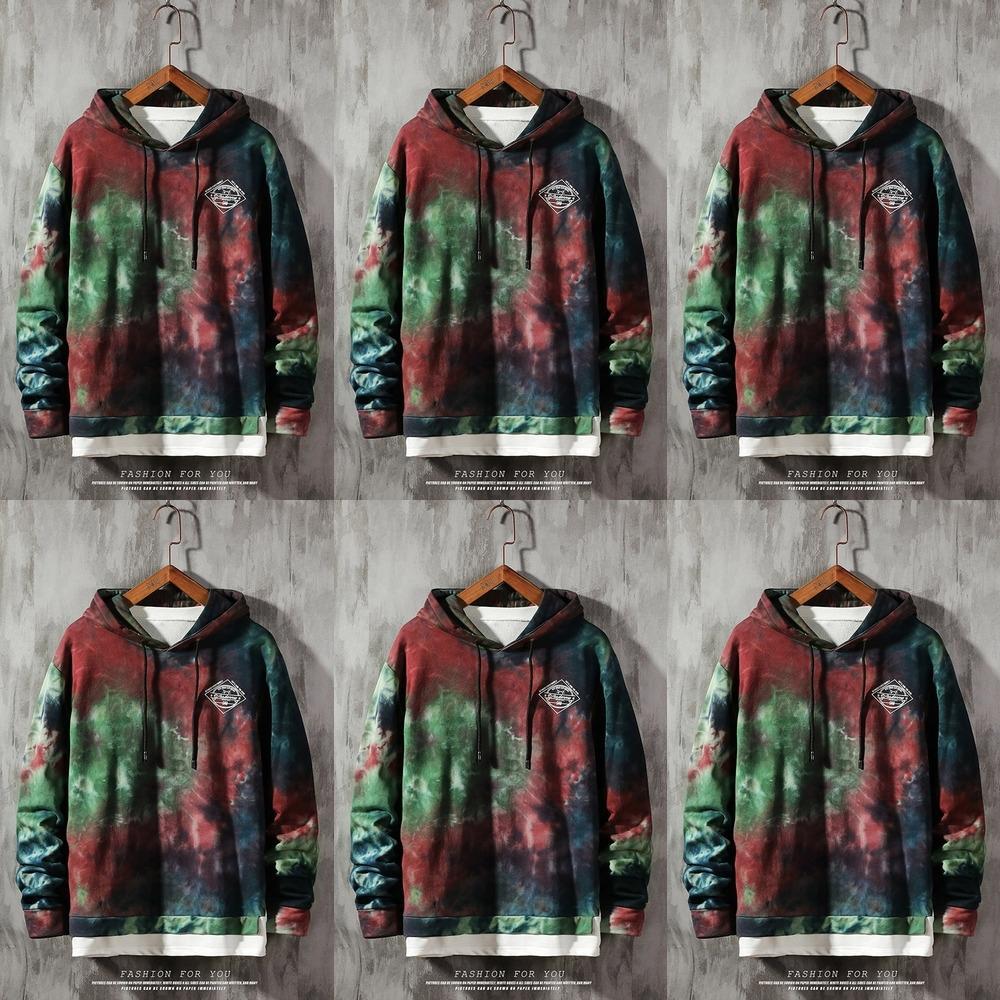 gM4Nd Hoodie новой свободный свитер молодежь Весна Пуловер мужской Большая печать пуловер Hoodie Корейской мужская мода J8TzU