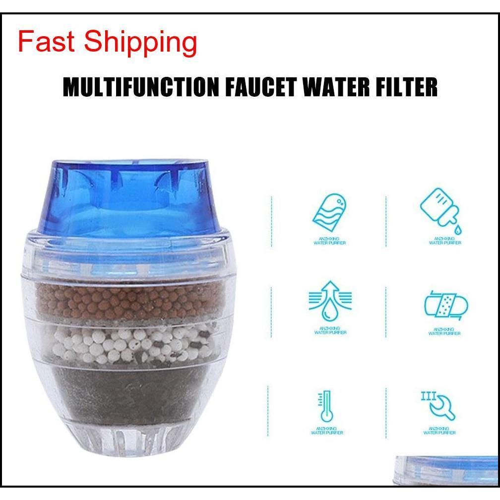 Kitchen Tap Head Faucet Water Filter Purifier Sprayer Filtration Activated Carbon Chlorine Fluoride Heavy Metals jllBap xmhyard