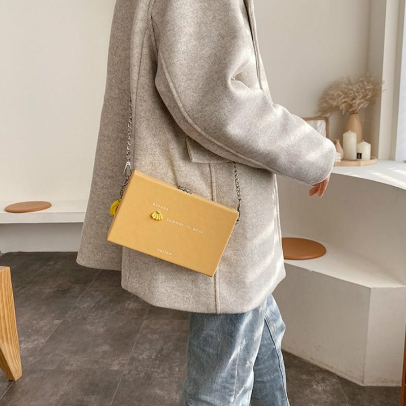Messenger Sale Bag Herbst Frauen und Winterkette Handtasche Neue Retro Meiste Crossbody Hot Bag 2020 Mode Box Xwakf