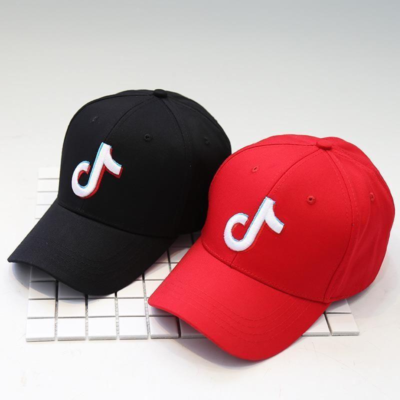 hot shooting TIKTOK video man baseball cap street all-match cap woman adjustable sunshade hip-hop hat 201019
