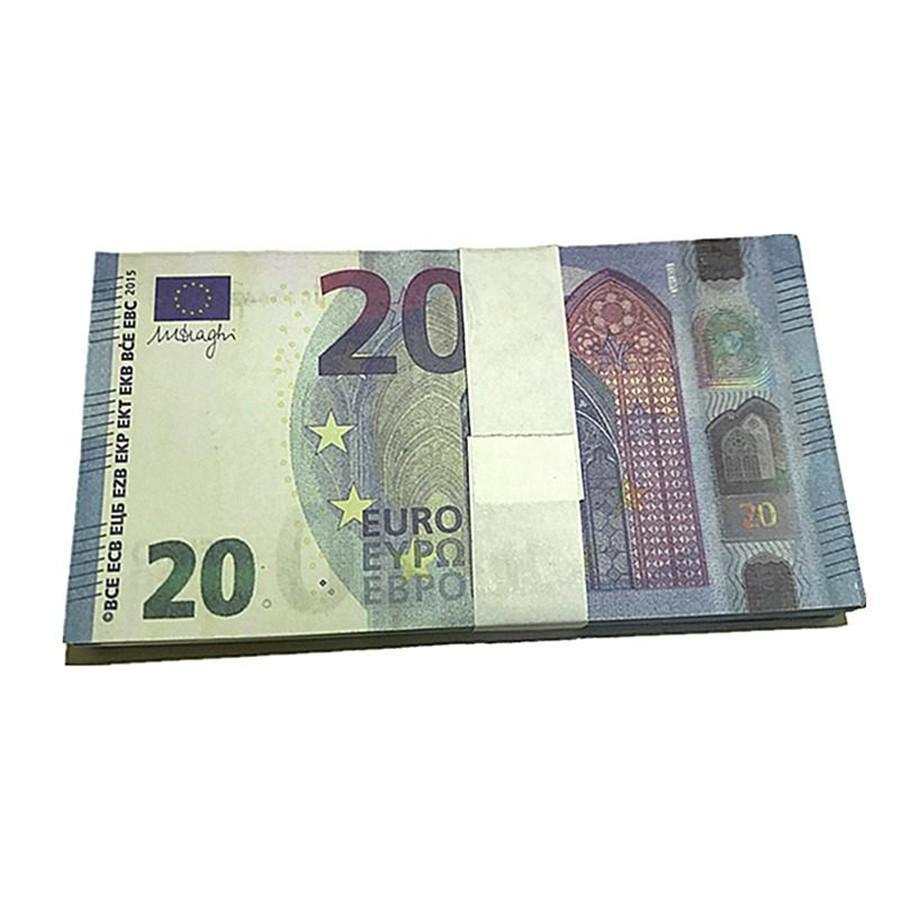 Película falsa Mostrar moneda regalos Props 100 Euro Props Bar Magic Party Bills Wholesale Bills Niños Dinero Juguete I10 BMEQN DCPOC