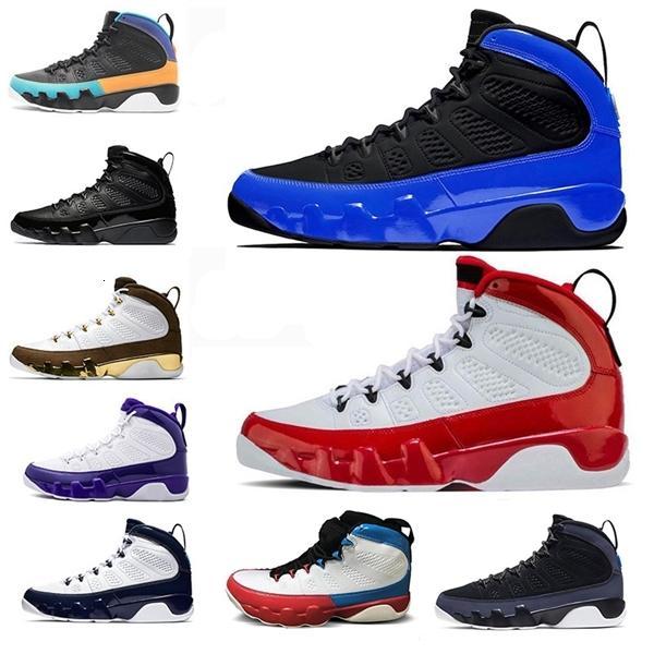 Moda 9 9s Yarışçı En Mavi Bukalemun Basketbol Ayakkabı Spor Kızıl Rüya O Unc Space Jam Antrasit Kadınlar Erkek Eğitmenler Spor Sneakersd4e Bred