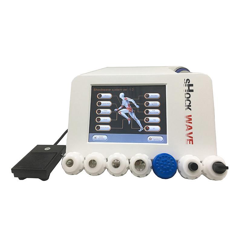 De alta calidad de la onda de choque máquina de la terapia para la disfunción eréctil por ondas de choque ED Tratamiento Acústico Artritis Alivio del Dolor adelgaza el equipo