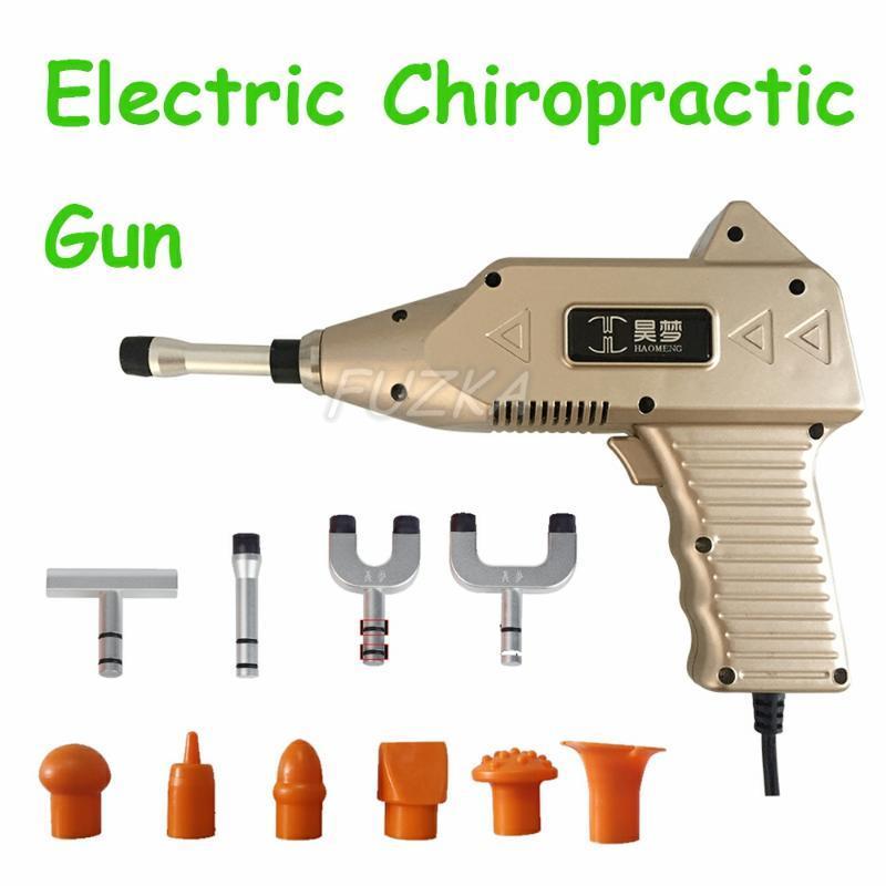 Massaggiatori elettrici Chiroprator Attivatore Attivatore Gun Regolazione della terapia Impulso Impulso Regolazione Correzione della spina dorsale Massaggiatore Strumento di massaggio di alta qualità