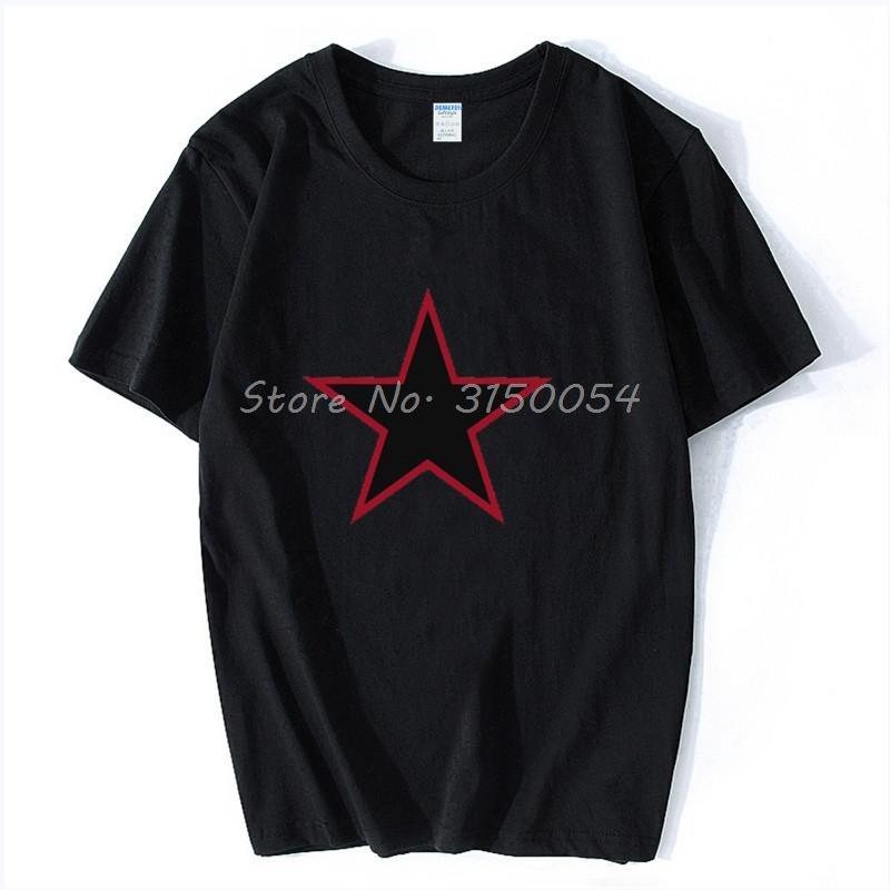 China Red Star Sommer-neue Art und Weise Kurz-Hülsen-Shirt Fitness Serigraphie Hip Hop Tees Harajuku Sport T-Shirt Hoodie Männer T-Shirt